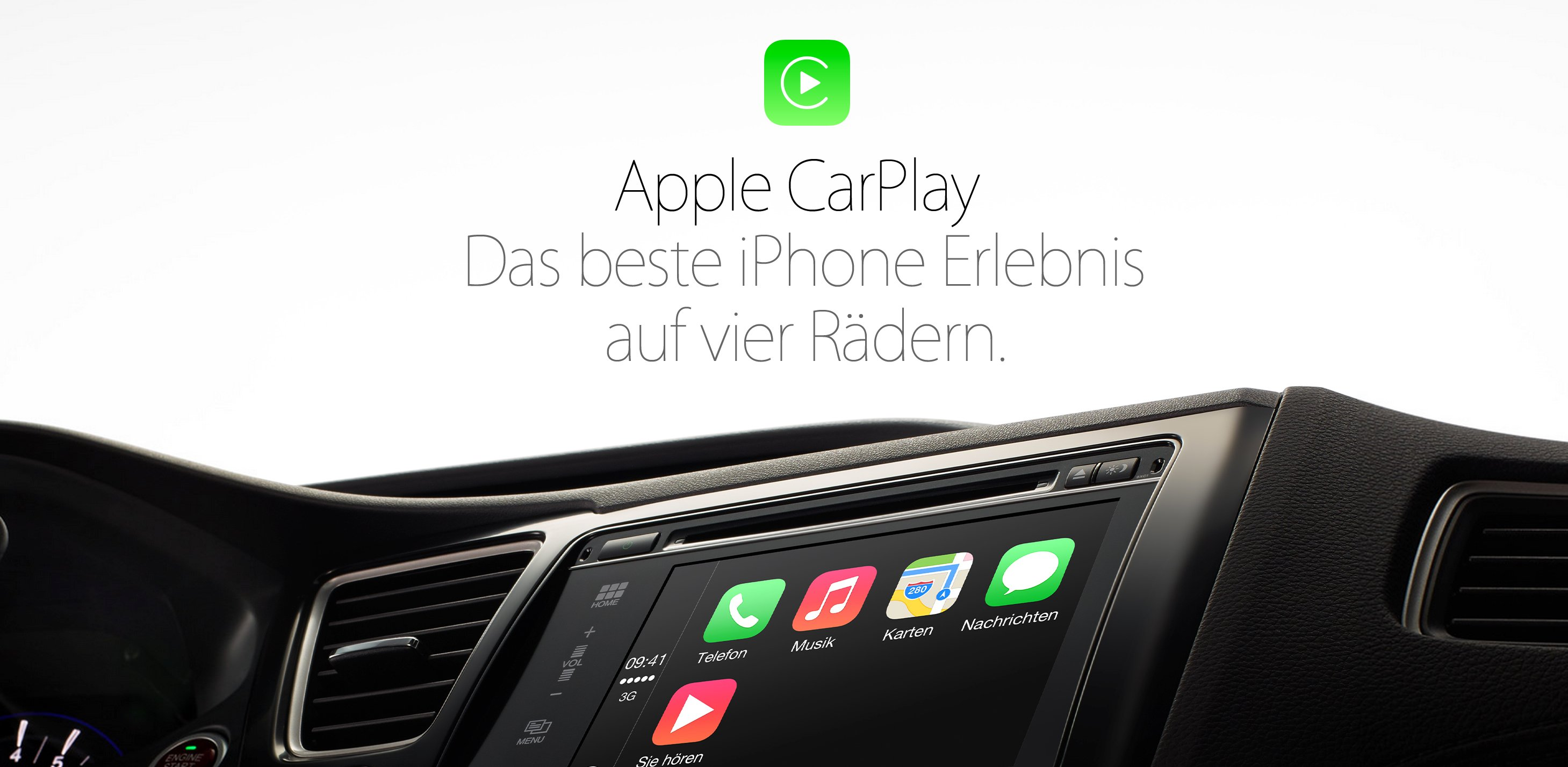 apple carplay mit audi bmw mercedes benz aber ohne vw. Black Bedroom Furniture Sets. Home Design Ideas