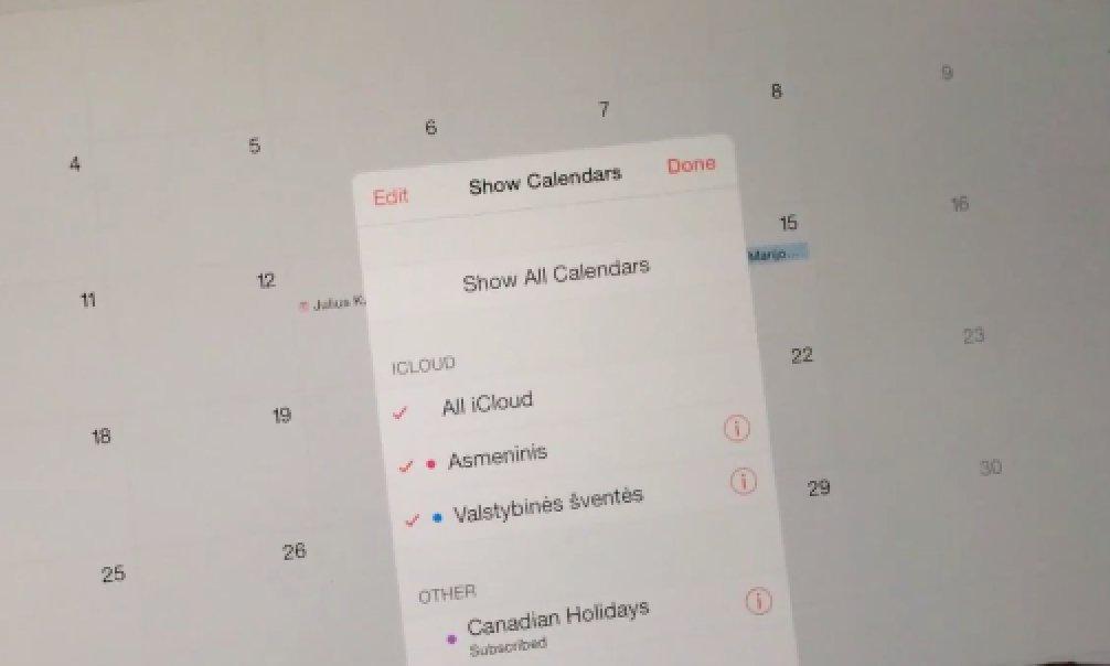 iOS 7.1.3 Update: Kalender-Bug in Video gezeigt 1