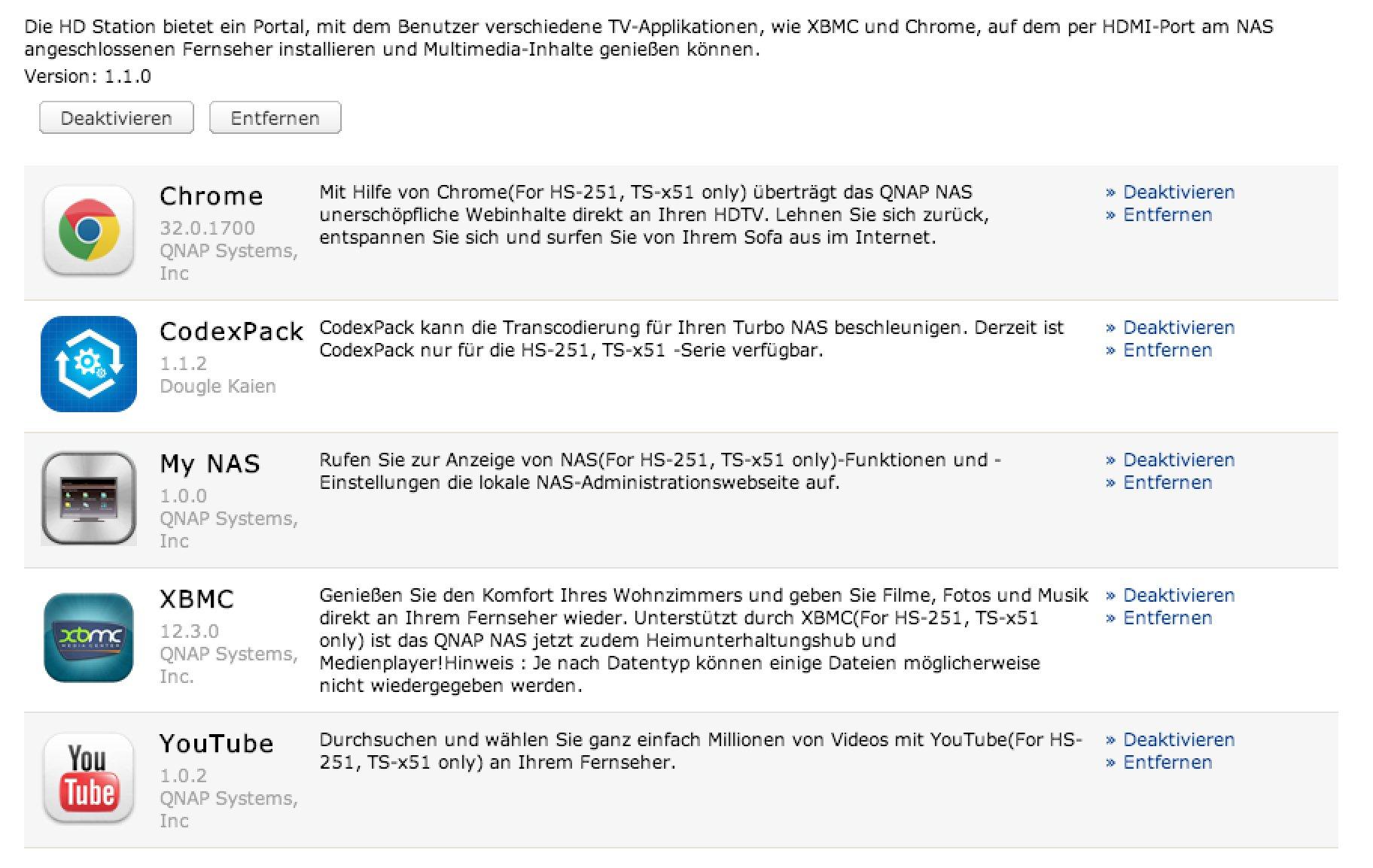 QNAP HS-251 Test - lautloses Profi-NAS mit HDMI, Plex und XBMC!