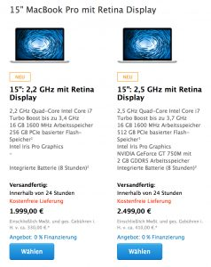 macbook pro 2014 mit retina display jetzt im apple online. Black Bedroom Furniture Sets. Home Design Ideas