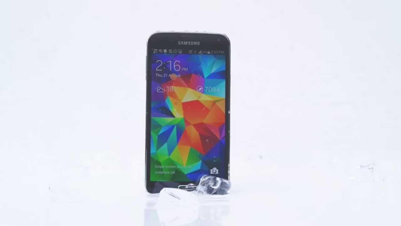 Samsung Galaxy S5 gewinnt gegen iPhone 5s  #IceBucketChallenge 13