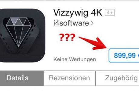 4K Videos mit iPhone 5s: Vizzywig 4K App für 900€? 5