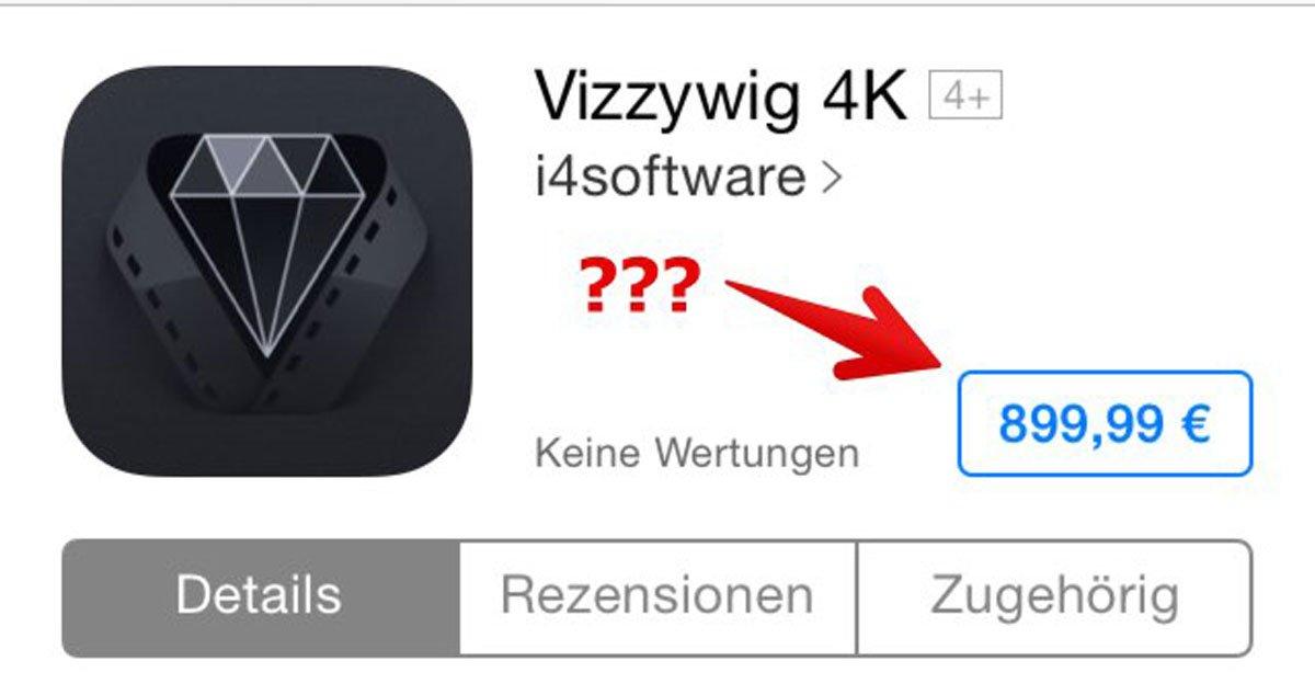4K Videos mit iPhone 5s: Vizzywig 4K App für 900€? 7