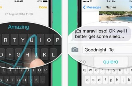 iOS 8 Keyboards & iOS 8 Tastaturen 4