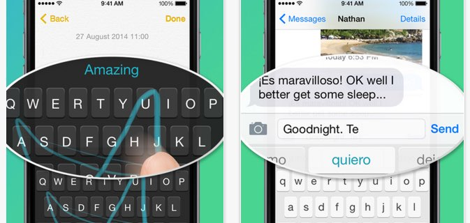 iOS 8 Keyboards & iOS 8 Tastaturen 2