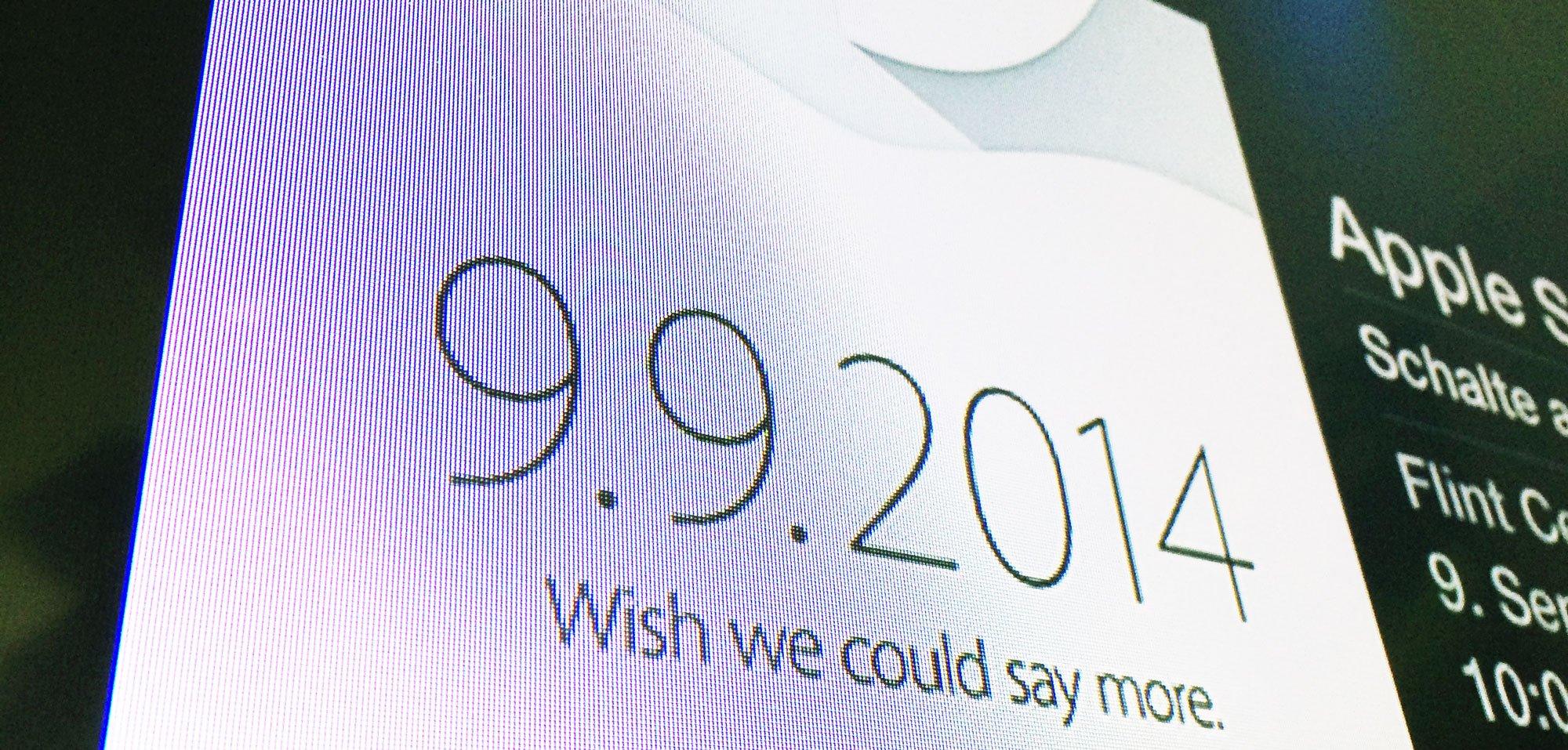 Apple iPhone 6 Event: Keynote Livestream auf AppleTV anschauen! 10
