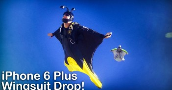 Video thumbnail for youtube video iPhone 6 Plus Wingsuit Drop-Test