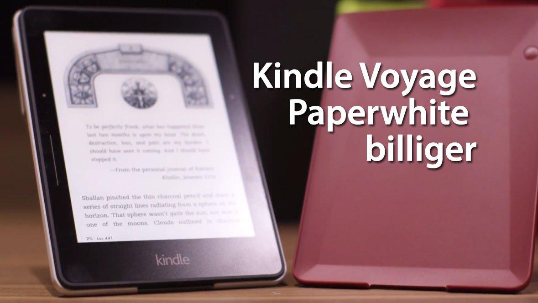 """Neuer Kindle, Paperwhite billiger und neuer """"Retina"""" Kindle Voyage 1"""