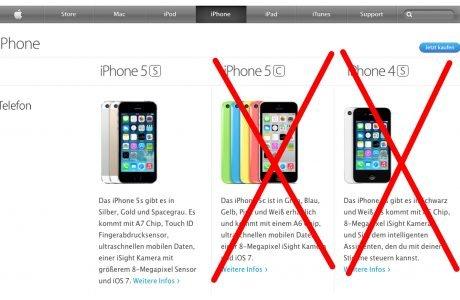R.I.P. iPhone 5c & iPhone 4S? 6