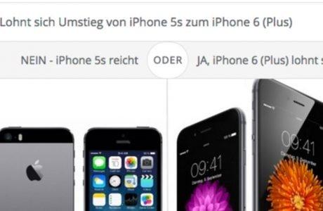 Lohnt sich Umstieg zum iPhone 6 (Plus) von iPhone 5s? 3