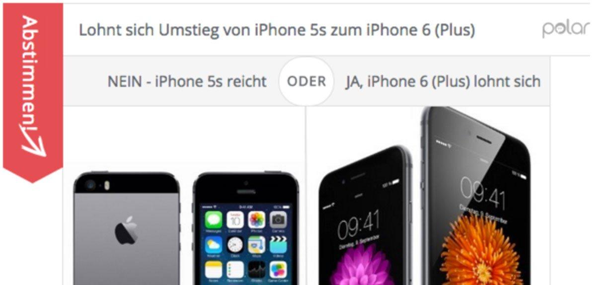 Lohnt sich Umstieg zum iPhone 6 (Plus) von iPhone 5s? 4