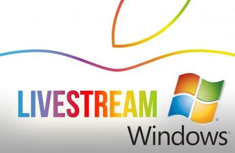 Windows? Apple Keynote Video Livestream mit Microsoft Windows PC 4