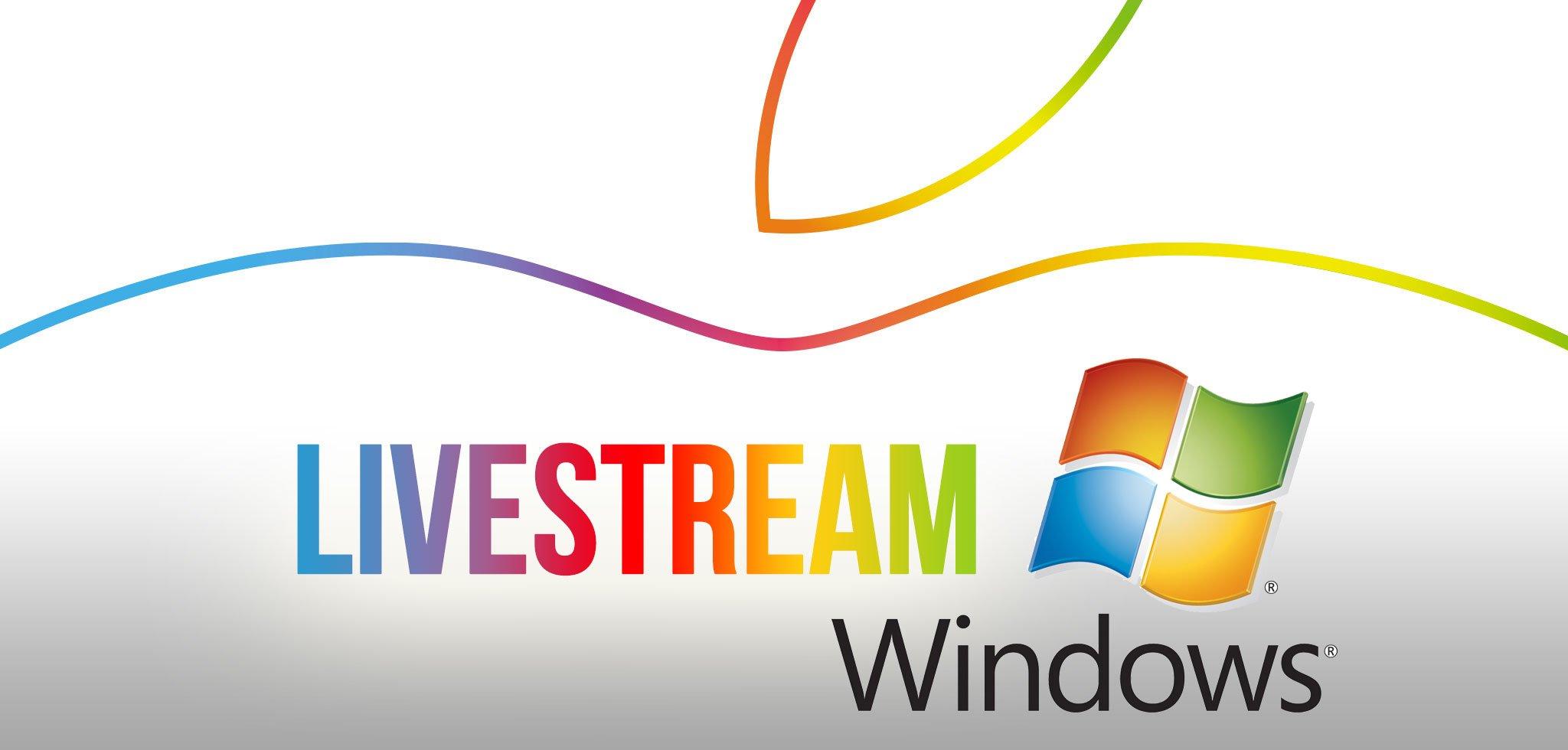 Windows? Apple Keynote Video Livestream mit Microsoft Windows PC 1