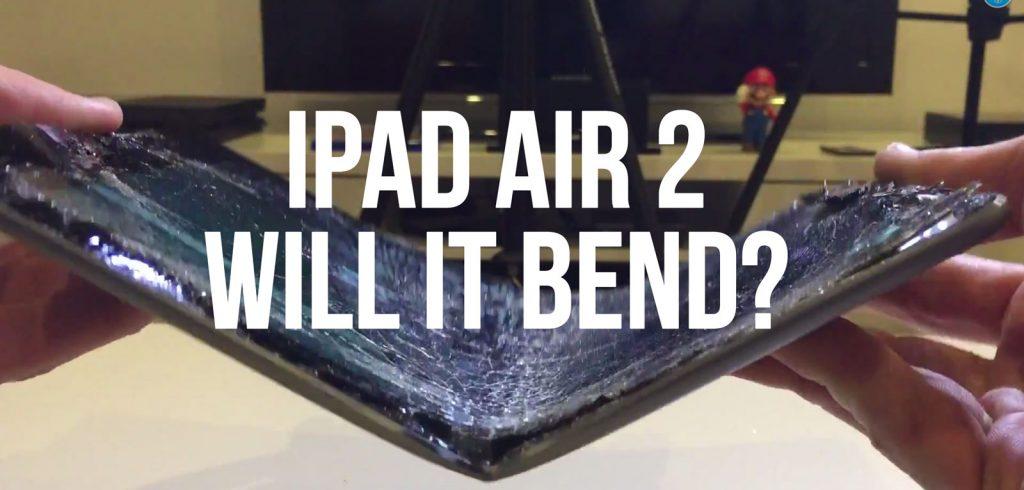 iPad Air 2: Will it Bend? (Video)