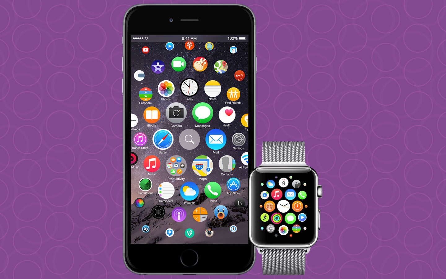 iOS 9 Redesign: iPhone 7 mit Apple Watch Interface? 10