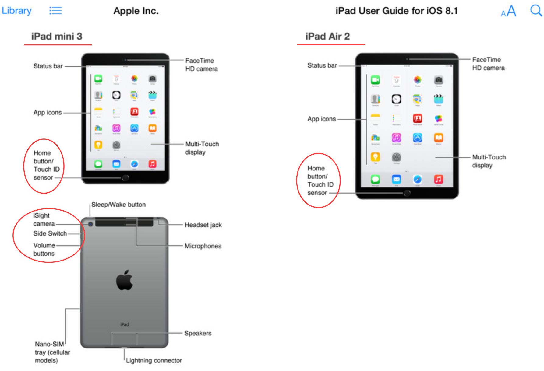 Apple LEAK: iPad Air 2 amp; iPad mini 3 mit iOS 8.1