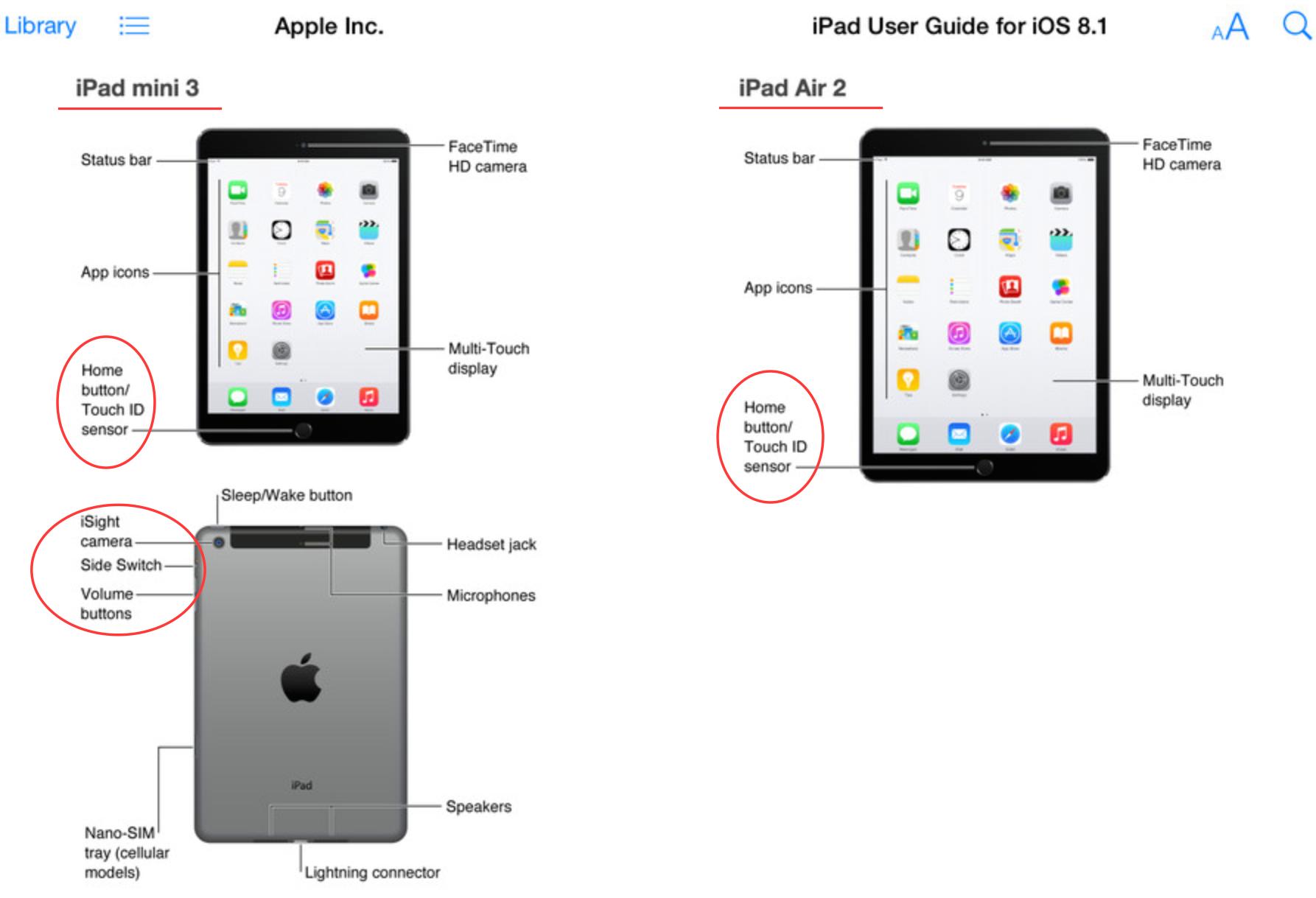 Apple LEAK: iPad Air 2 amp; iPad mini 3 mit iOS 8.1