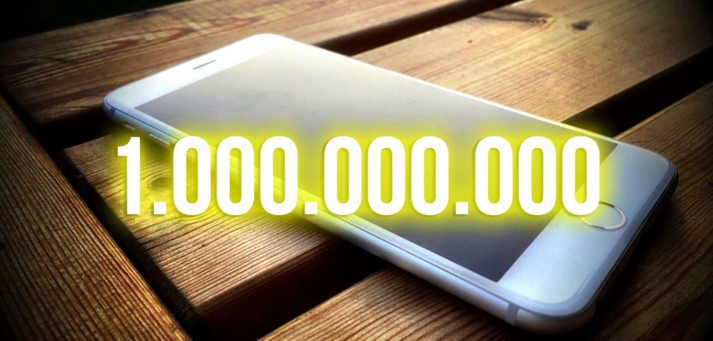 Apple feiert in Kürze eine Milliarde iPhones, iPads und iPod touch!