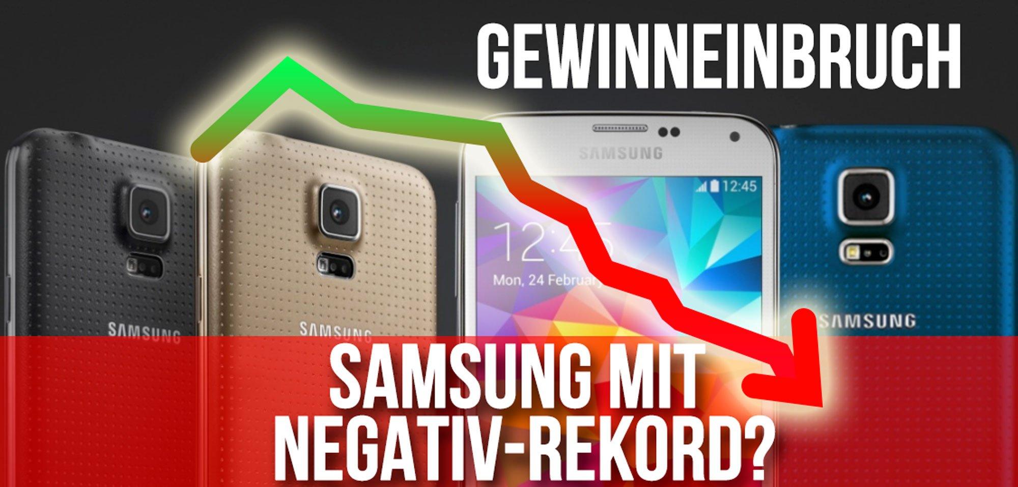 Samsung MINUS 74% - Gewinneinbruch höher als erwartet! 1