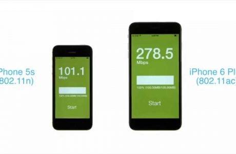 WLAN Speedtest iPhone 6 Plus: So schnell ist das neue iPhone 6 WLAN AC!  1