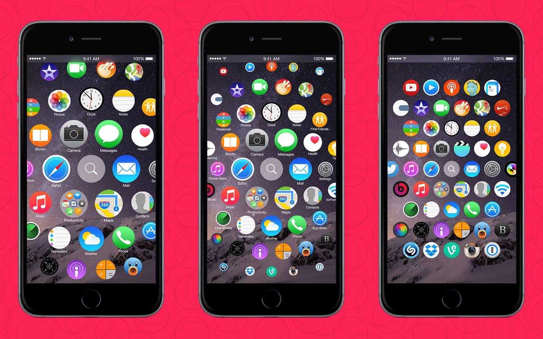 Iphone wallpaper zoom ios 9 - Was Denkt Ihr Zu Diesem Ios 9 Konzept Im Apple Watch Design Denkt Ihr Dass Dieser Homescreen Die Zukunft Von Ios Und Dem Iphone Sein K Nnte