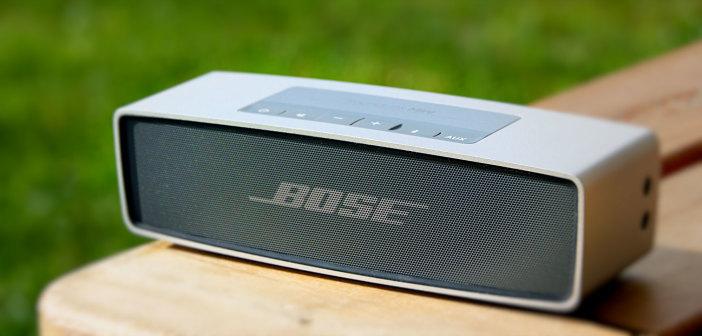 bose soundlink mini test hochwertiger bluetooth lautsprecher. Black Bedroom Furniture Sets. Home Design Ideas