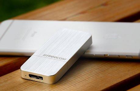 Freecom mSSD Test: schnelle externe High-Speed USB 3.0 Mini-SSD 4