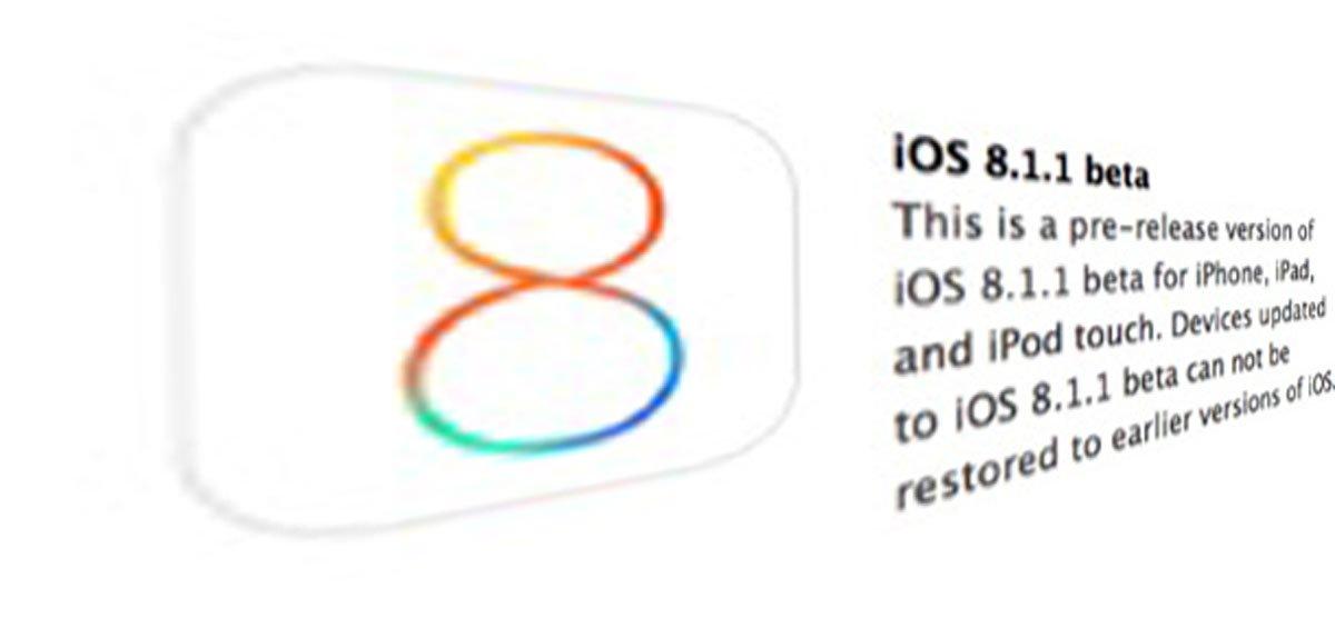 iOS 8.1.1 beta Download verfügbar mit Verbesserungen für iPad 2 & iPhone 4s! 3