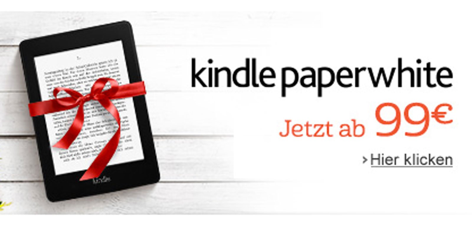 Kindle billiger: Paperwhite Aktion bei Amazon! 1