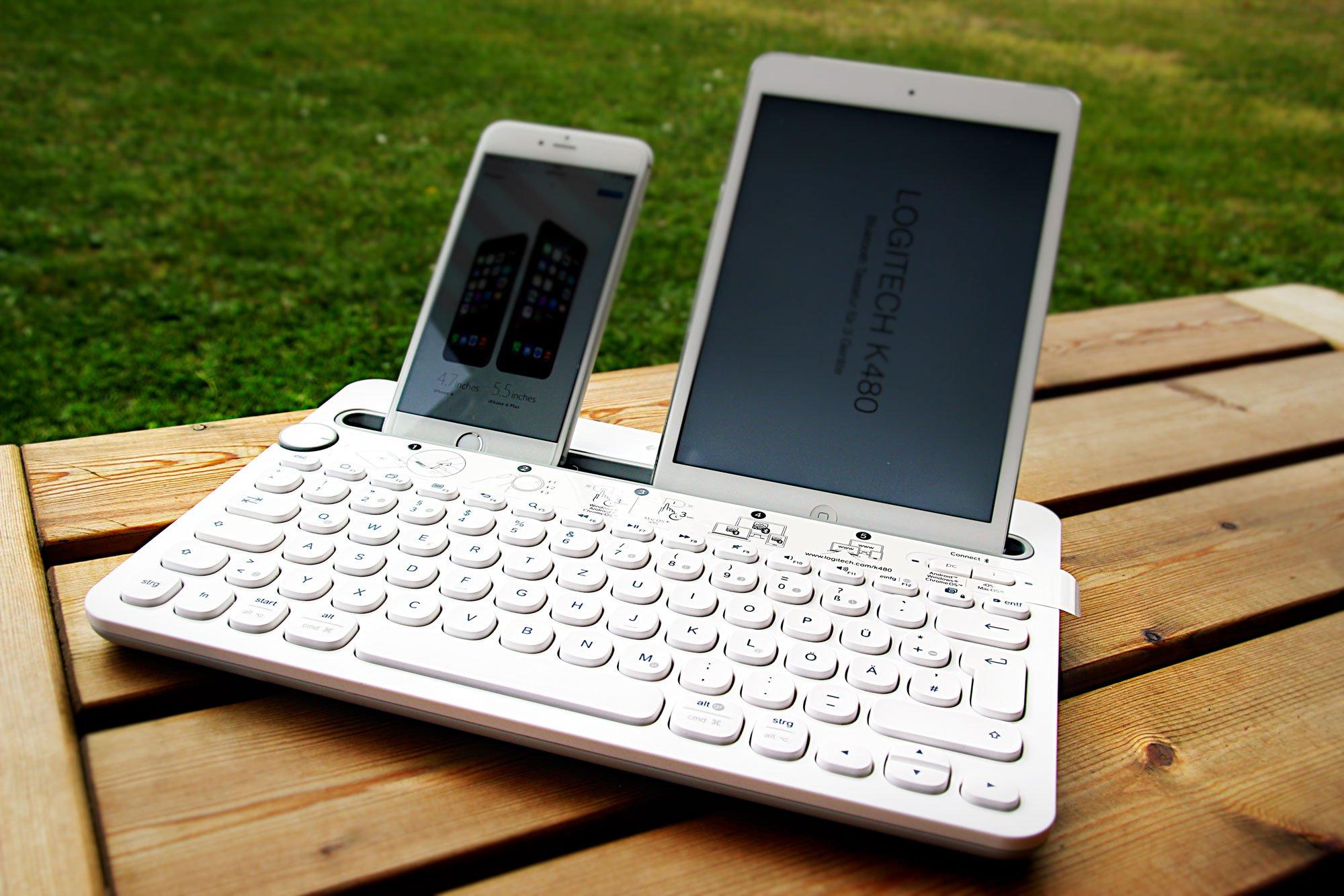 Logitech K480 Test: Bluetooth Keyboard für iPhone, iPad & Mac! 5