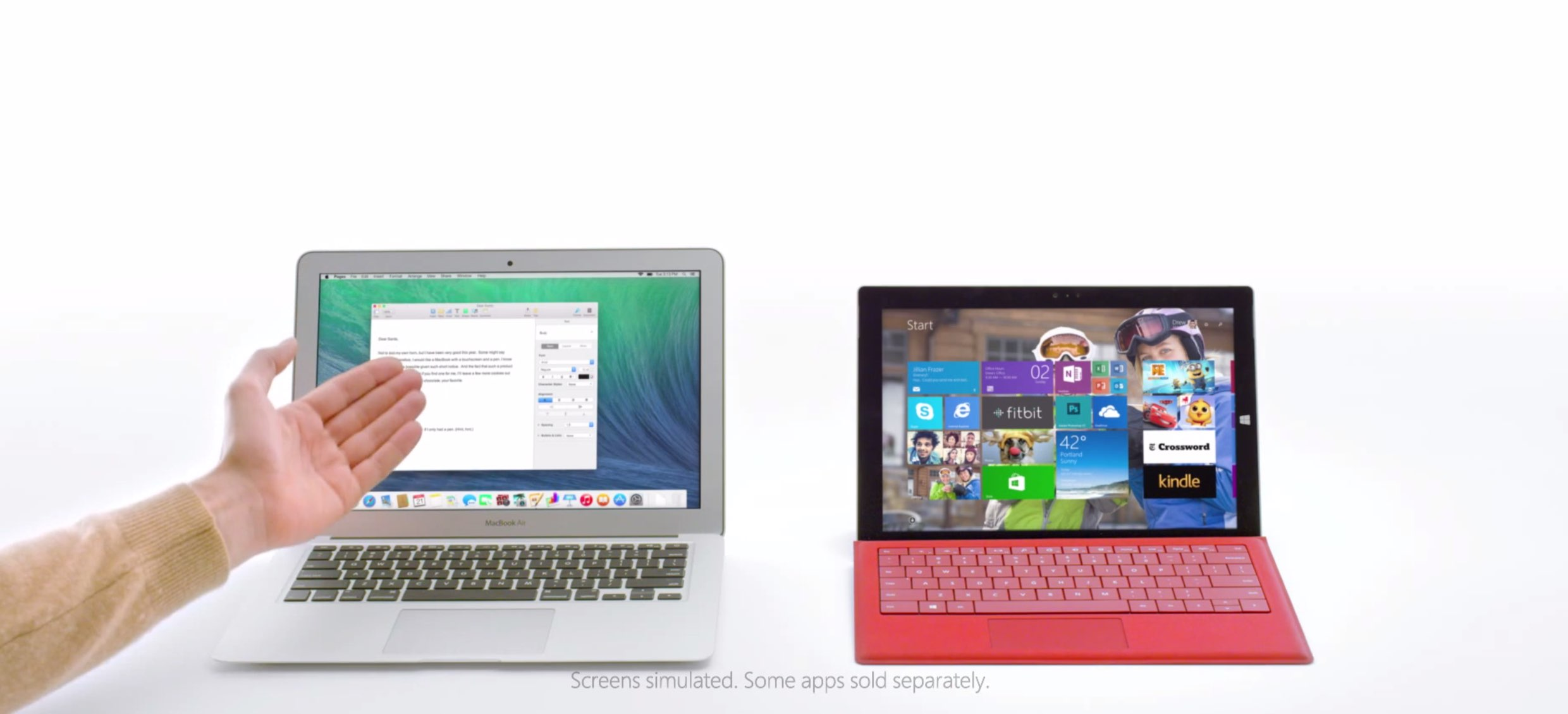 """Mein Mac ist klasse!"" - neues Microsoft Surface Pro 3 Video 10"