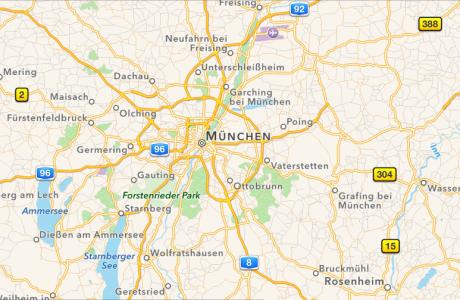 Apple Maps: Öffentliche Verkehrsmitteln in Finnland, Norwegen, Dänemark & Schweden 4