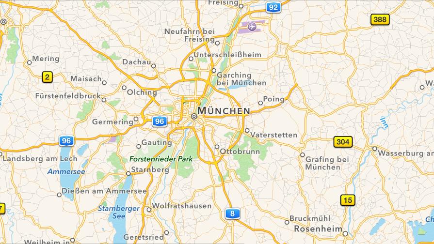 Apple Maps: Öffentliche Verkehrsmitteln in Finnland, Norwegen, Dänemark & Schweden 5