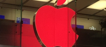 Apple Store Welt AIDS Tag