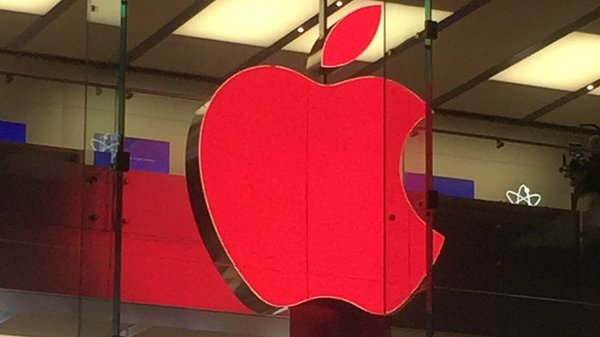 Welt AIDS Tag 2014: Apple färbt Apple Stores rot Apple Store Welt AIDS Tag