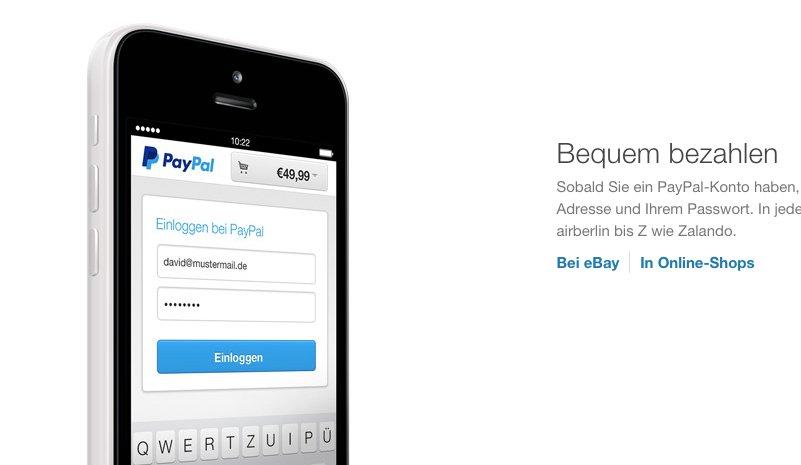 Apple Online Store: PayPal-Zahlungen ab sofort möglich 5