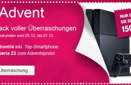 Telekom 2. Advent: PlayStation 4 Bundle 2