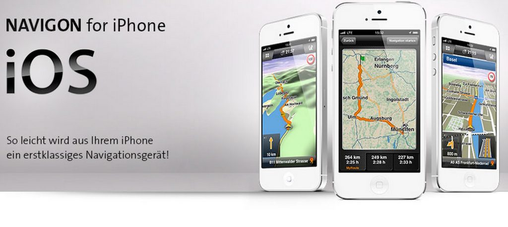 navigon iphone x