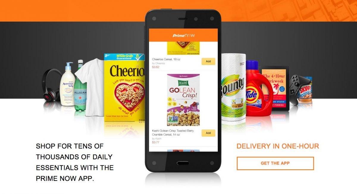 Amazon 1 Stunde Lieferung