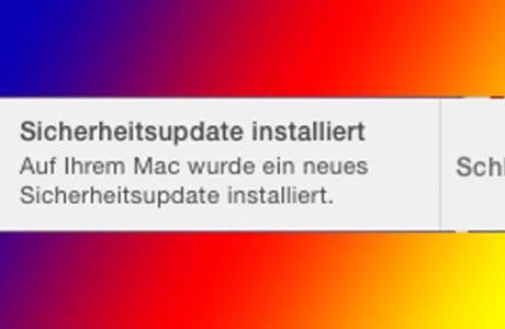 Apple veröffentlicht erstes automatisches Sicherheitsupdate für OS X! 9