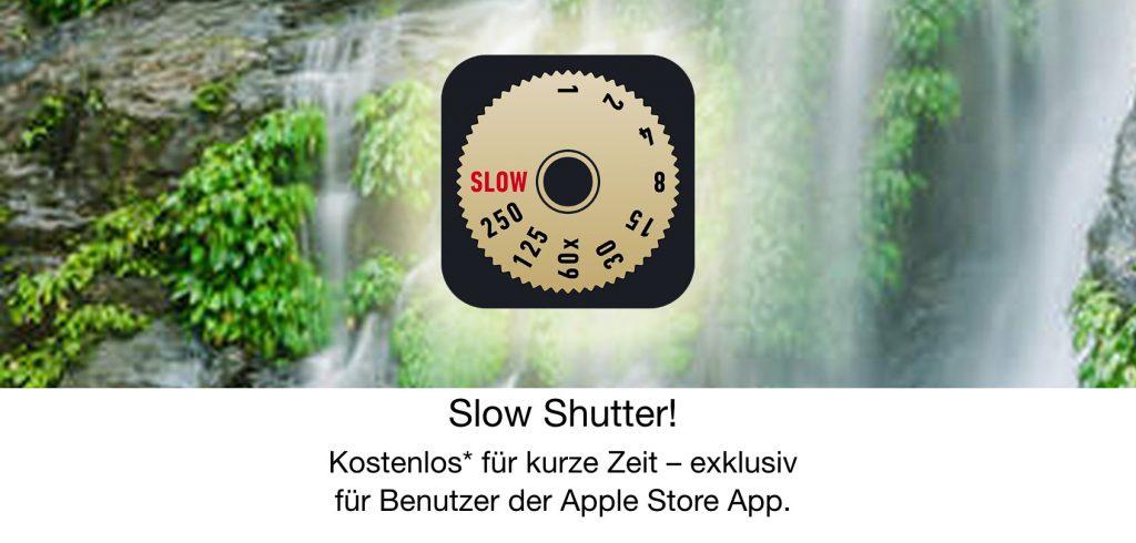 Slow Shutter! kostenlos über Apple Store App