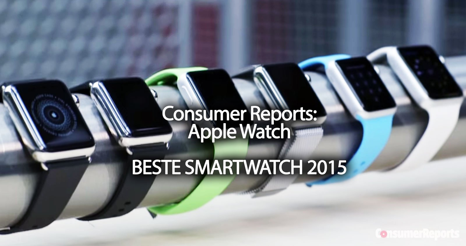 platz 1 im test apple watch ist beste smartwatch 2015. Black Bedroom Furniture Sets. Home Design Ideas
