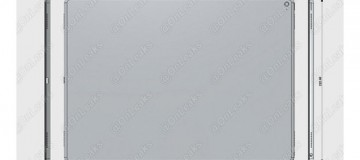 Die angeblichen Abmessungen vom iPad Pro © AppleInsider