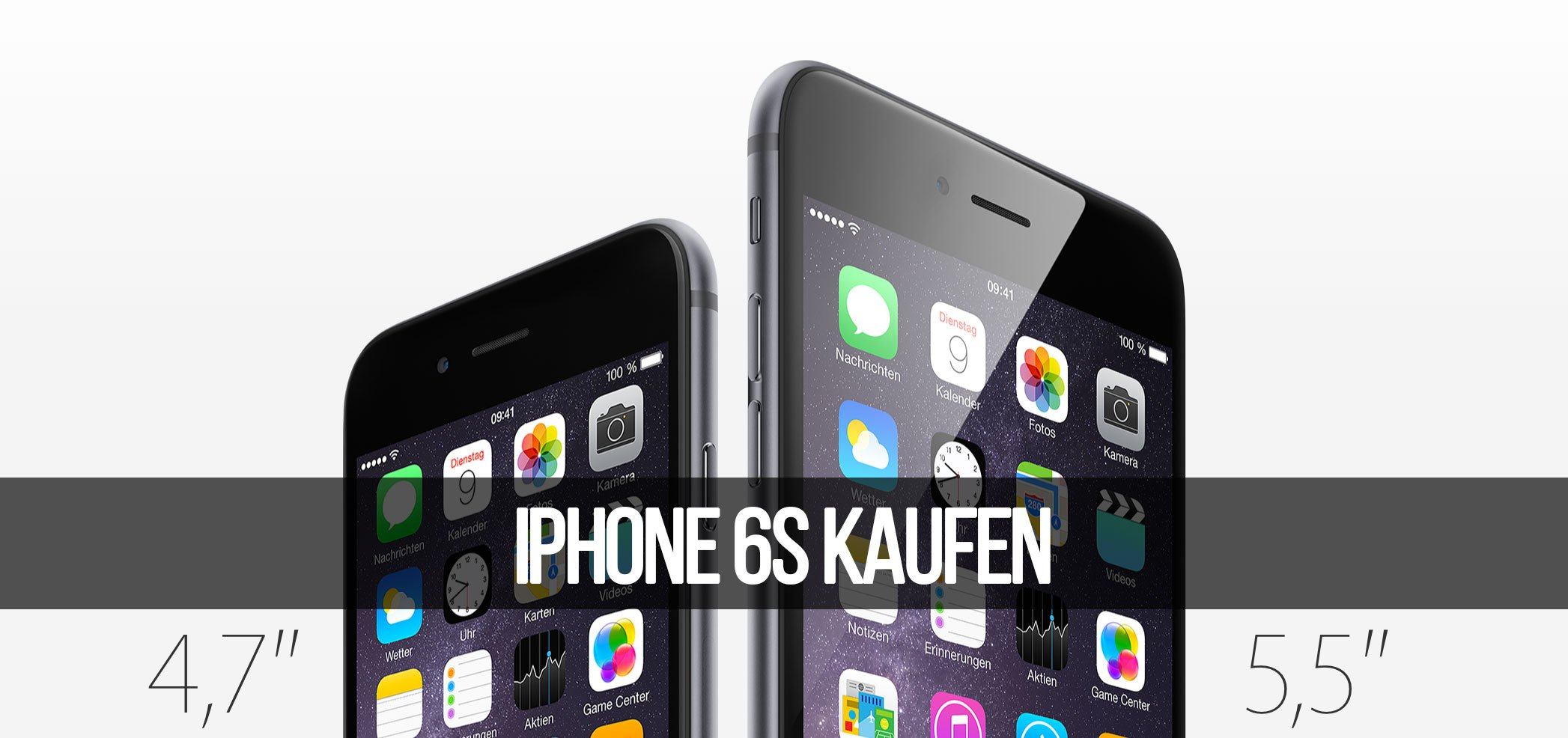 iPhone 6s (Plus) kaufen & bestellen