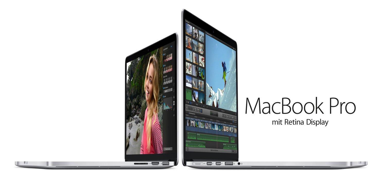 15 Zoll Retina MacBook Pro 2015