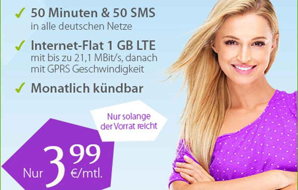 Billiger gehts nimmer: die günstigsten Smartphone Tarife ab 3,99 Euro! 6