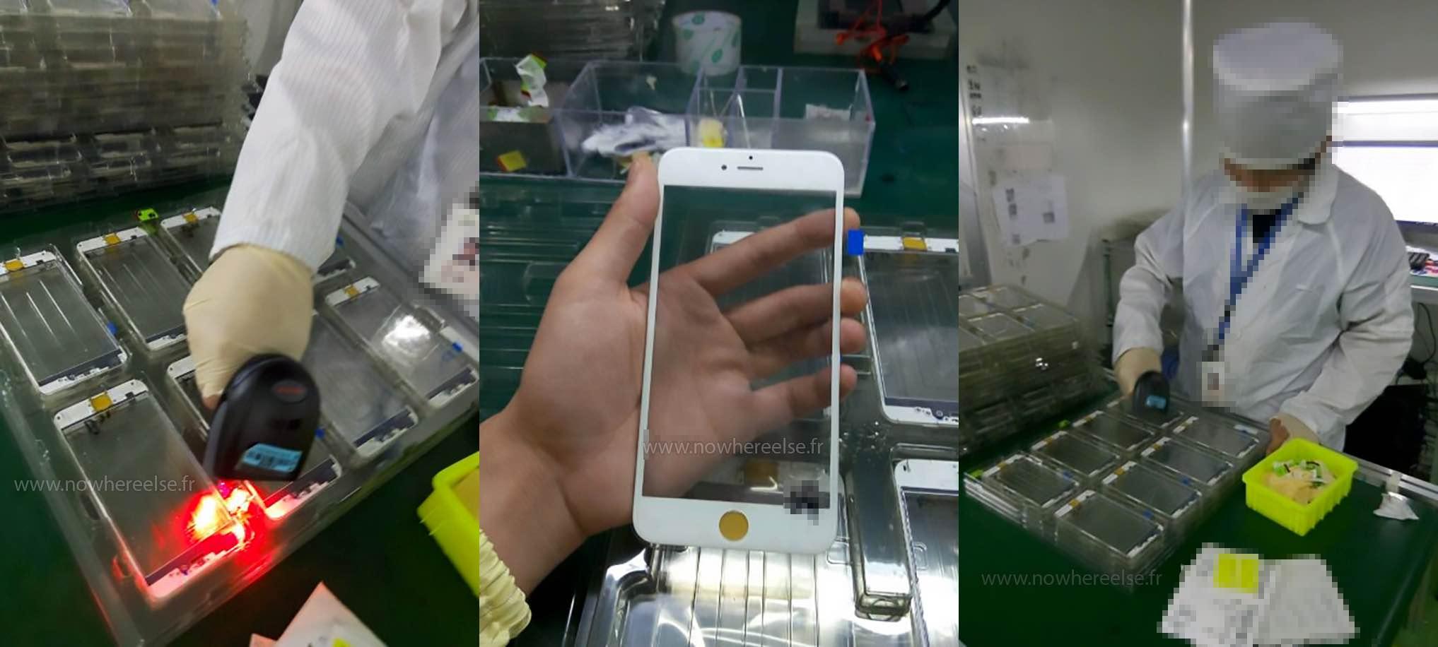 Überraschung: Leak mit ersten Bildern der iPhone 6S Front? 3