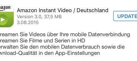 NEU: Amazon Prime Video für iOS mit HD-Streaming 5