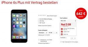 Vodafone Angebot iPhone 6s mit Vertrag