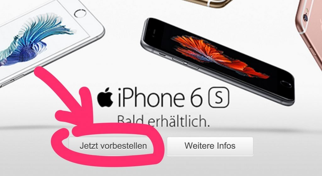 iphone 6s mit vertrag bei vodafone telekom o2. Black Bedroom Furniture Sets. Home Design Ideas
